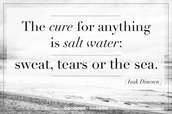 The Cure Is Salt