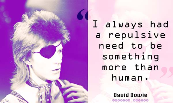David Bowie More Than Human